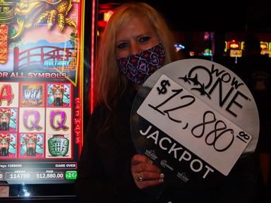 Candace M. won $12,880 playing Triple Fortune Dragon Unleashed at the Quil Ceda Creek Casino in Marysville only 45 minutes from Seattle.