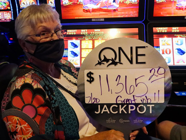 Carol N. won $11,365 playing Wicked Winnings II at the Quil Ceda Creek Casino where winners play.