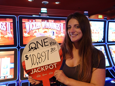 Dynae S. won $10,397 playing Wicked Winnings II at the Quil Ceda Creek Casino only 45 minutes from Seattle.