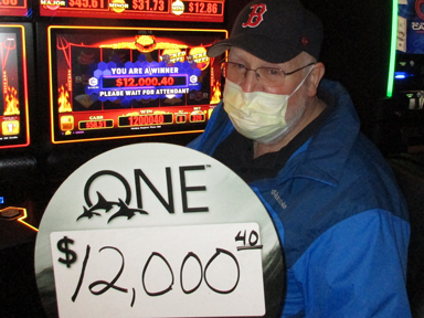 James R. won $12,000 playing Smokin' Hot Stuff - Wicked Wheel at the Q in Tulalip only 15 minutes form Everett.