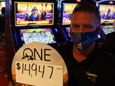 Steven H. won $14,947 playing Buffalo in the Quil Ceda Creek Casino where winners paly.