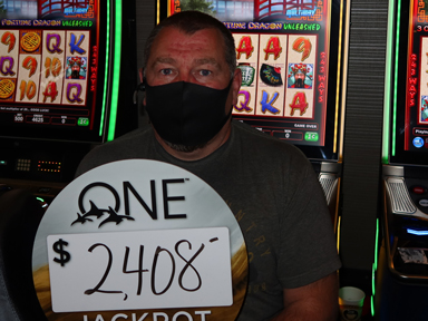 Tulsa H. won $2,408 playing Triple Fortune Dragon Unleashed at the Quil Ceda Creek Casino in Marysville only 45 minutes from Seattle.