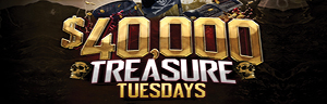 Play at Quil Ceda Creek Casino north of Bellevue and Shoreline on I-5 to win $40,000 Treasure Tuesday Drawings!