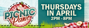 Thursdays are a picnic at the New Quil Ceda Creek Casino. Just earn 500 points and swipe your ONE club card at the kiosk, then select a picnic basket to reveal your cash or Free Play prize up to $1,000!