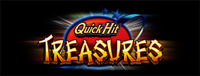 Play Vegas-style slots at Quil Ceda Creek Casino like the exciting Quick Hit Treasures video gaming machine!