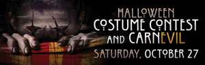 Halloween at Quil Ceda Creek Casino is Saturday, October 27 at 8PM with a Halloween Costume Contest and CarnEVIL - north of Bellevue near Marysville on I-5!