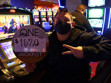 Jayme W. won $1,620 playing Buffalo at Quil Ceda Creek Casino.