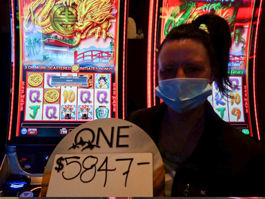 Jamie W. won $5,847 playing Triple Fortune Dragon - Unleashed at Quil Ceda Creek Casino.