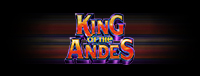 Image of the logo for the King of the Andes slot machine at Quil Ceda Creek Casino