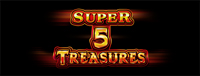 Play Vegas-style slots at the new Quil Ceda Creek Casino like the exciting Super 5 Treasures video gaming machine!