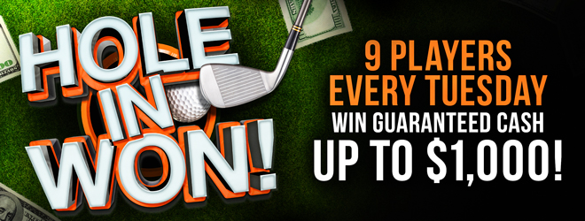 At Quil Ceda Creek Casino just north of Seattle near Everett on I-5 play Hole in One every Tuesday afternoon in August!