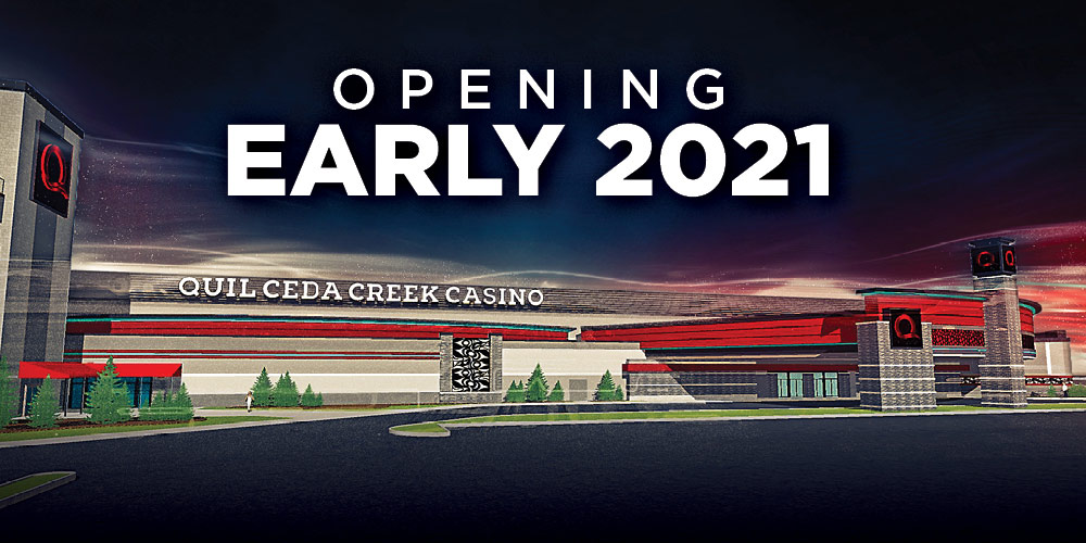 New Quil Ceda Creek Casino opening in early 2021