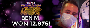 Ben M. won $12,976 playing Triple Fortune Dragon at the Quil Ceda Creek Casino in Marysville only 45 minutes from Seattle.