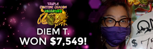 Diem T. won $7,549 playing Triple Fortune Dragon - Unleashed at Quil Ceda Creek Casino.
