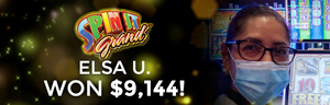 Elsa U. won $9,144 playing Fabulous Riches at Quil Ceda Creek Casino.