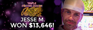 Jesse M. won $13,646 playing Triple Fortune Dragon at the Quil Ceda Creek Casino in Marysville North of Seattle.