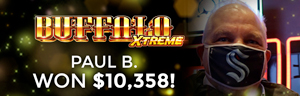 Paul B. won $10,358 playing Buffalo Xtreme at Quil Ceda Creek Casino. Come experience the grand opening of the New Quil Ceda Creek Casino February 3, 2021.