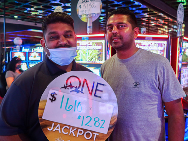 Alwyn & Selwyn L. won $1,610 and $1,282 playing Triple Fortune Dragon at the Quil Ceda Creek Casino in Marysville North of Seattle.