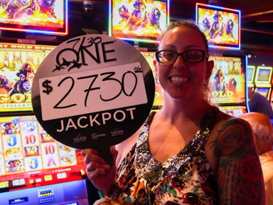 Cynthia P. won $2,909 playing Buffalo Gold at the Quil Ceda Creek Casino in Quil Ceda Village 15 minutes North of Everett, Washington.