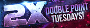 Quil Ceda Creek Casino's double point madness is every Tuesday from 8:00 AM to midnight - where winners play!