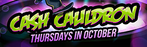 Image of the Cash Cauldron promotion at Quil Ceda Creek Casino