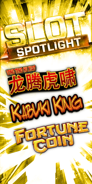 Play slots at Quil Ceda Creek Casino north of Bellevue and Seattle on I-5, like the exciting Long Teng Hu Xiao, Kabuki King and Fortune Coin!