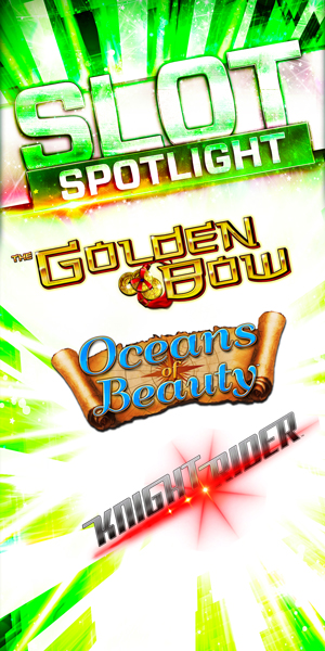 Play slots at Quil Ceda Creek Casino north of Bellevue and Seattle on I-5, like the exciting Golden Bow, Oceans of Beauty and Knight Rider!