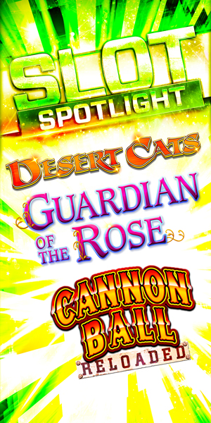 Play slots at Quil Ceda Creek Casino north of Bellevue and Seattle on I-5, like the exciting Desert Cats, Guardian of the Rose and Cannon Ball Reloaded!