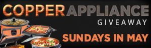Play slots at Quil Ceda Creek Casino north of Bellevue and Lynnwood on I-5 Sundays in May to enter the Copper Appliance Giveaway!