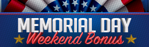 Play slots a Quil Ceda Creek Casino north of Bellevue and Kirkland on I-5, and enter the Memorial Day Weekend Bonus on Monday, May 27!