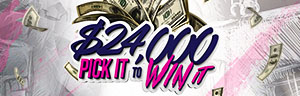 Play slots a Quil Ceda Creek Casino north of Bellevue and Kirkland on I-5, and enter the $24,000 Pick It To Win It Drawings in May!