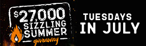 Play slots at Quil Ceda Creek Casino north of Bellevue and Kirkland on I-5 to enter the $27,000 Sizzling Summer Drawings every Tuesday in July!