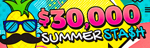 $30,000 Summer Stash promotion at the QCC casino 45 minutes north of Seattle