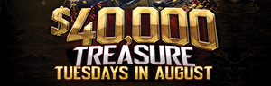 $40,000 TREASURE TUESDAYS At the Quil Ceda Creek Casino in Tulalip 45 minutes from Seattle