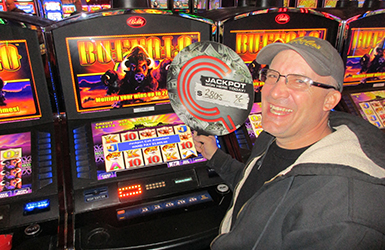 At Quil Ceda Creek Casino just north of Everett near Marysville, WA on I-5 Christopher D. hit a big slots jackpot on Buffalo!