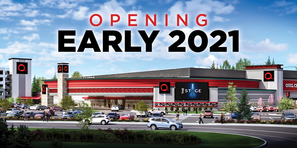 Join us at the new Quil Ceda Creek Casino in 2021 for more fun in Marysville only 45 minutes north of Seattle!