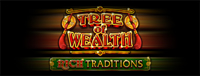 At Quil Ceda Creek Casino just north of Seattle near Arlington, WA we have the Tree of Wealth - Rich Traditions slot machine!