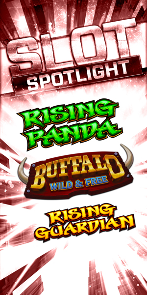 At Quil Ceda Creek Casino come in and play the Rising Panda, Buffalo Wild & Free and Rising Guardian slots - we are located just north of Bellevue and Edmonds on I-5!