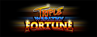 At Quil Ceda Creek Casino north of Bellevue near Marysville, WA on I-5 you can play the exciting Triple Wealthy Fortune slot machine!