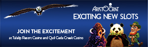 Playing slots at Quil Ceda Creek Casino gets even more exciting with the new Aristocrat slot machines in the mix - located just north of Bellevue and Seattle on I-5!