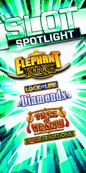 Quil Ceda Creek Casino near Everett on I-5 invites you to come play our exciting slot machines like Elephant King, Lock It Link - Diamonds, and Tree of Wealth - Rich Traditions!