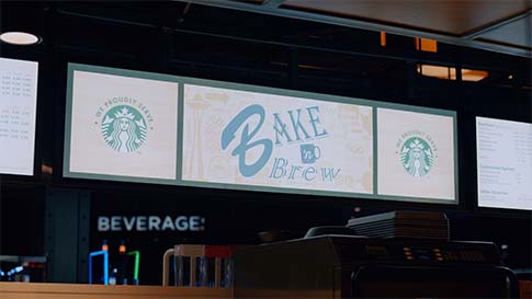Check out the Bake N Brew and grab your favorite Starbucks coffee drink, and breakfast sandwich at the New Quil Ceda Creek Casino located in Marysville!