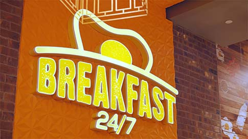 Check out the The Kitchen - Breakfast 24/7 and enjoy breakfast 24/7 at the New Quil Ceda Creek Casino located in Marysville!