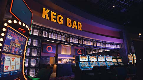 Come visit Keg Bar and enjoy appetizers, classic pub fare, flatbread pizzas at the New Quil Ceda Creek Casino located in Marysville!